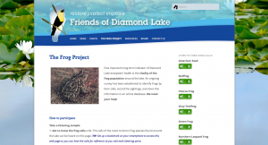 Go to Frog Project Page