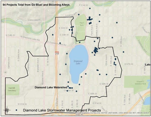 Diamond Lake Watershed