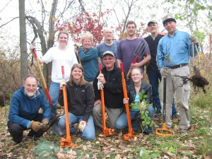 Some of the 2012 Buckthorn Bust crew